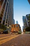 Cabina di funivia di San Francisco Immagine Stock Libera da Diritti