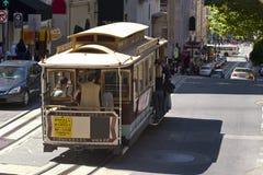 Cabina di funivia a San Francisco Fotografia Stock Libera da Diritti
