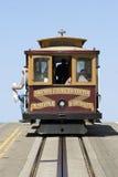 Cabina di funivia a San Francisco Fotografie Stock