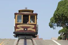 Cabina di funivia a San Francisco immagini stock libere da diritti
