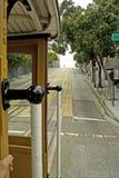 Cabina di funivia a San Francisco Fotografia Stock