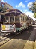 Cabina di funivia, San Francisco Fotografie Stock