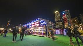 Cabina di Gioco-Time - il grande carnevale europeo 2014, Hong Kong Fotografia Stock Libera da Diritti