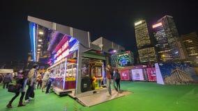 Cabina di Gioco-Time - il grande carnevale europeo 2014, Hong Kong Immagini Stock