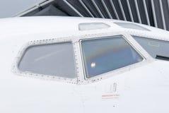 Cabina di guida del jet Fotografia Stock Libera da Diritti