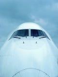 Cabina di guida del particolare dell'aeroplano Immagine Stock Libera da Diritti