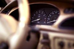 Cabina di guida del veicolo Immagini Stock Libere da Diritti