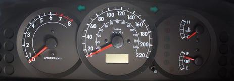 Cabina di guida dell'automobile Immagini Stock