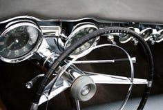 Cabina di guida dell'automobile Fotografie Stock