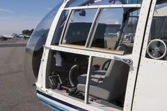 Cabina di guida dell'elicottero Fotografia Stock Libera da Diritti