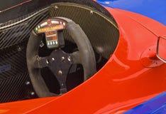 Cabina di guida della macchina da corsa Immagine Stock