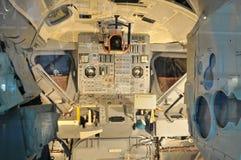 Cabina di guida della spola di spazio della NASA Immagine Stock