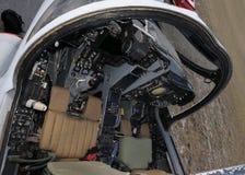 Cabina di guida di Jetfighter Fotografie Stock Libere da Diritti
