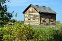 Cabina di legno rustica Fotografie Stock Libere da Diritti