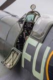 Cabina di pilotaggio delle spitfire Immagine Stock