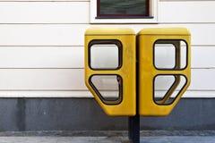 Cabina di telefono Immagini Stock