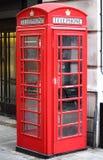 Cabina di telefono rossa di Londra Immagini Stock