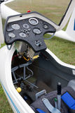 Cabina di un sailplane Fotografia Stock Libera da Diritti