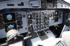 Cabina do piloto Fotografia de Stock Royalty Free