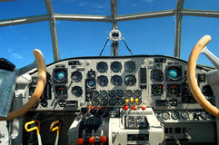 Cabina do piloto Foto de Stock