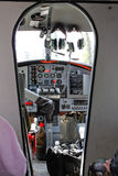 Cabina do piloto da lontra de Alaska de Havilland Fotos de Stock