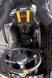 Cabina do piloto da raça Foto de Stock