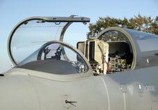 Cabina do piloto de aviões Fotografia de Stock