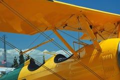 Cabina do piloto de aviões leves Imagens de Stock