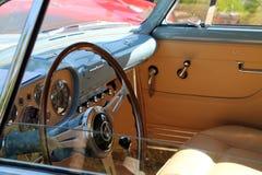Cabina do piloto de Ferrari America do vintage Fotografia de Stock Royalty Free