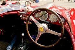 Cabina do piloto de Ferrari na bandeira 2017 da prata de Vernasca Imagens de Stock Royalty Free