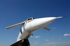 Cabina do piloto de um avião Imagens de Stock