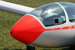 Cabina do piloto de um planador Fotos de Stock