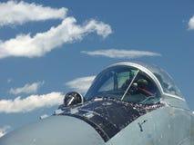 cabina do piloto do Ar-lutador Fotos de Stock
