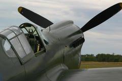 Cabina do piloto do avião de combate Fotos de Stock Royalty Free