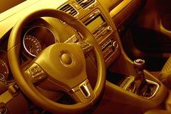 Cabina do piloto do carro Fotografia de Stock Royalty Free