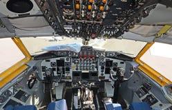 Cabina do piloto do petroleiro de ar Imagens de Stock Royalty Free