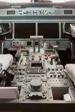 Cabina do piloto interna G550 da vista Imagens de Stock Royalty Free