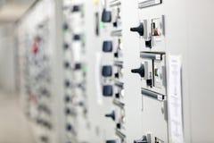 Cabina eléctrica Imagen de archivo libre de regalías