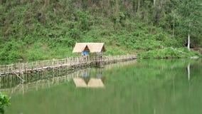 Cabina en el puente Fotografía de archivo libre de regalías
