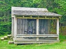 Cabina en la casa de campo de LeConte foto de archivo libre de regalías