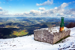 Cabina en montaña Imagen de archivo libre de regalías