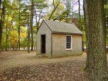 Cabina en Walden Pond Fotos de archivo