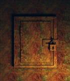 Cabina oxidada Fotos de archivo libres de regalías