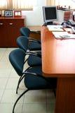 Cabina para las reuniones. Imagen de archivo libre de regalías