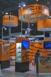 Cabina por satélite de la compañía de Digital Equipment del tigre Imágenes de archivo libres de regalías