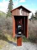 Cabina telefonica Fotografia Stock