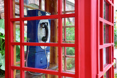 Cabina telefonica Immagine Stock Libera da Diritti