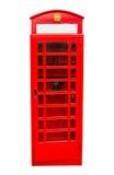 Cabina telefonica dell'annata di Londra fotografia stock
