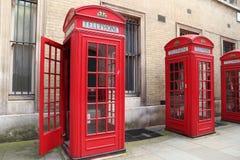 Cabina telefonica di Londra immagine stock