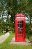 Cabina telefonica inglese immagine stock libera da diritti